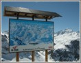 Espace Killy piste map & La Grande Motte